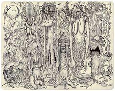 james jean sketchbook