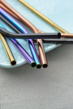Stainless Steel Straws Steel Drinking Straw Reusable Eco Friendly Straws Eco Straws Metal Straw Yeti Straw Tumbler Mason Jar Smoothie #zerowaste #environment #straws #strawban #stainlesssteel #steel #reusable #eco Mason Jar Smoothie, Metal Straws, Stainless Steel Straws, Tumbler With Straw, Make It Through, You're Awesome, Different Colors, Drinking, Mason Jars