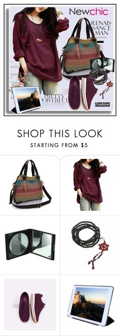 """""""Newchic"""" by lip-balm ❤ liked on Polyvore featuring plus size clothing"""