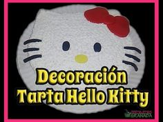 Decoración de tarta - Hello Kitty