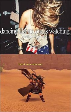Dance, dance, dance! Thanks to @SabreTaserRS on Twitter for this meme!   #RuneScape