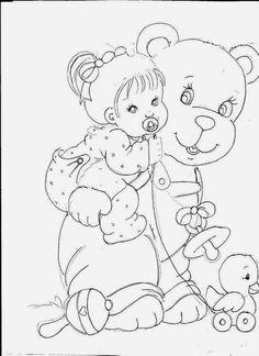 piggy back bear