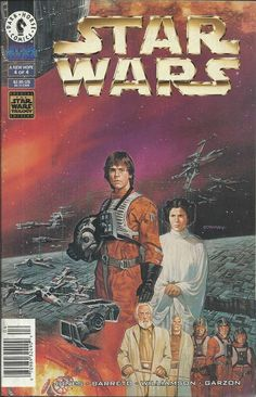 Star Wars A New Hope comic issue 4