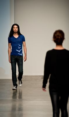 Modern Graphic T-shirts by Designer The Vanity Project Spring Summer 2014 Collections at New York Fashion Week Photographed by Kathleen Clip...