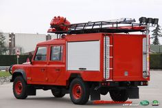 Special Land Rover Defender 130 Fire Rescue
