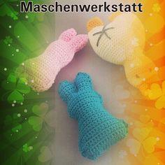 Die nächsten drei Ostergefährten sind fertig  #maschenwerkstatt #osternkannkommen #osternest #amigurumi #häkelnundstricken #handmade #handarbeit #baumwollzauber #crochet by maschenwerkstatt96