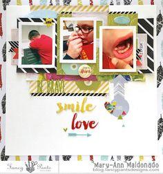 Smile-love by @maldonadomas for @fancypantsdsgns using #attwell