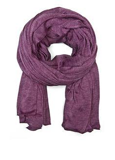 Purple Basic Scarf