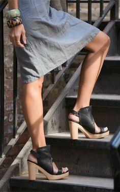 Coclico Sone Platform Sandal in Black