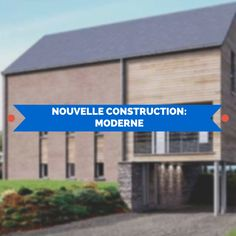 1000 images about nouvelle construction moderne on for Frais nouvelle construction