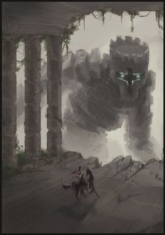 Shadow of The Colossus - Wander and Colossus