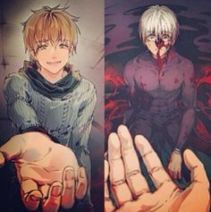 I knew all along but who cares lets blow this joint << finally a Tokyo ghoul thing that made me laugh