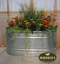 Murdoch's Ranch & Home Supply - Stock Tank Planters - HW Brand