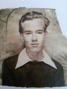 A young Andy Warhol