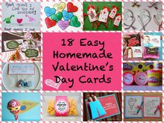 Store Bought No More: 18 Easy Homemade Valentine's Day Cards >> http://redtri.co/1hK8t2r