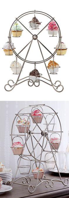 Ferris wheel cupcake holder! #product_design