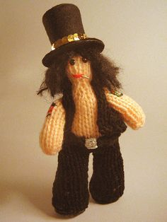 Slash by Hannah Simpson (author of EVIL KNITS: 20 PROJECTS THAT GO BUMP IN THE NIGHT), tattoos and all!