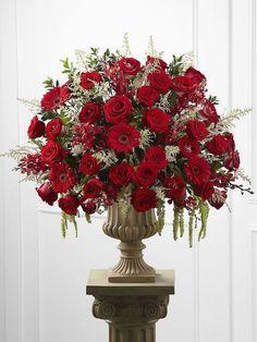 Fantastic Ideas For Red Floral Arrangement (40)
