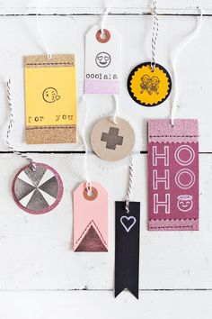 Cards & Tags with A Beautiful Mess Stamps (via Bloglovin.com )