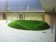 Artificial Grass Amphitheatre
