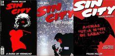 Verita's Sound And Vision: Quadrinhos Frank Miller Sin City ( 3 Edições )