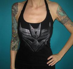 up-cycled #Decepticon t-shirt #Transformers