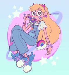 """angst machine on Twitter: """"aesthetic star butterfly star vs the forces of evil…"""