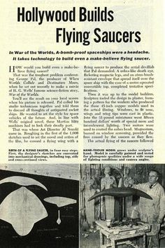 War of the Worlds 1953 article...