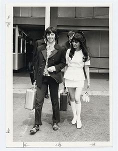 Ringo and Maureen Starr, 1968