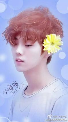 Find images and videos about exo, luhan and fanart on We Heart It - the app to get lost in what you love. K Pop, Sehun And Luhan, Chanyeol, Exo Anime, Exo Fan Art, Bts Aesthetic Pictures, Korean Art, Perfect Boy, Kpop Fanart
