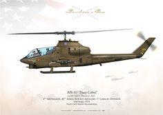 UNITED STATES ARMY2nd Battallion, 20th Aerial Rocket Artillery, 1st Cavalry Division. Vietnam. 1971Pilot CW2 Wayne Richardson