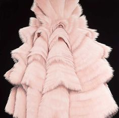 Protective Costume, Synthetic enamel on canvas, Bmw, Fashion Art, Contemporary Art, Fur Coat, Waves, Graphic Design, Costumes, Illustration, Painting
