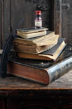 Old Books by Cintamani ;-), via Flickr