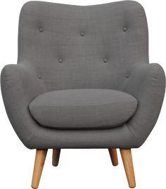 Breyton fauteuil en tissu