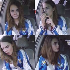 The Delevingne Cute Way Cara Delevingne Funny, Cara Delevingne Photoshoot, Cara Delvingne, Beard Humor, Aesthetic Beauty, Queen, Best Model, Woman Crush, Role Models