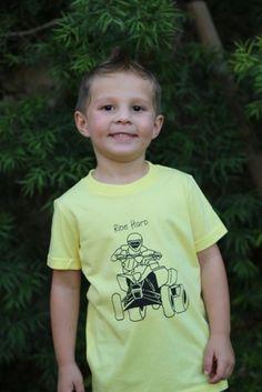 Cam's Closet Onesies and Graphic Tees | Jane $12.99 SALE jane.com #2daysale #jane #camscloset #kidsclothes #kidsclothing #kidsshirts #gifts #christmasgifts #presents #kidspresents #clothing #kids #shirts #coolclothes #coolkidsclothes #jane #sale  #quad @Kelli Morse #yellowshirt #motorsports #glamis #ridehard