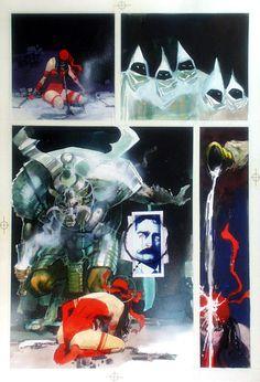 Elektra Assassin, by Frank Miller & Bill Sienkiewicz