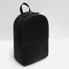 REPTILE EFFECT EMBOSSED BACKPACK