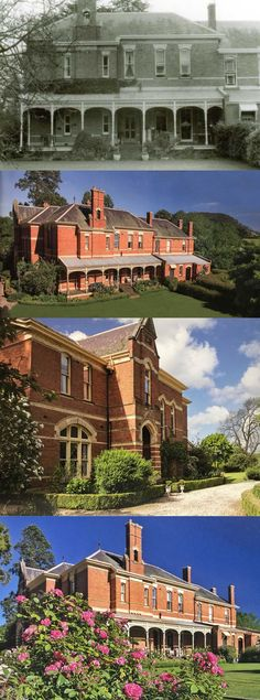 Mount Boninyong, Scotsburn W of Melbourne ), sited on the side of extinct volcano, Mt Buninyo Melbourne Victoria, Victoria Australia, Australian Architecture, Residential Architecture, Victorian Rooms, Victorian Houses, Country Farm, Country Homes, Boston House