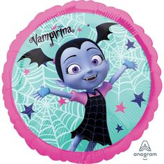 Fly a Vampirina Balloon at your little one's party and turn your home into the Scare B&B! The foil Vampirina Balloon features Vampirina and spider webs on a teal background with a pink border. Halloween Costume Shop, Halloween Costumes For Kids, Balloon Party, Oktoberfest Halloween, Teal Background, Kids Party Supplies, Birthday Supplies, Disney Junior, Stamps