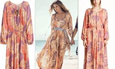 Kaftan dresses are basically ankle-lengthened, loose, unfastened and free-flowing robes.