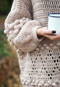 Lululoves: Diamonds and Bobbles Jumper Crochet Pattern