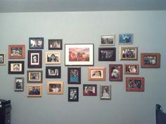 All thrift store frames...