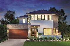 Brick facade idea for new house