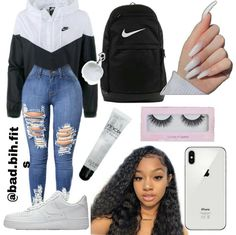 Source by tween outfits casual Adrette Outfits, Baddie Outfits Casual, Cute Lazy Outfits, Swag Outfits For Girls, Teenage Girl Outfits, Cute Swag Outfits, Girls Fashion Clothes, Teen Fashion Outfits, Look Fashion