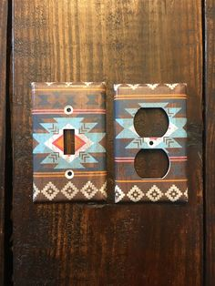 Aztec Light Switch And Outlet Cover Sets Western Bedroom Decor, Western Rooms, Western Decor, Country Teen Bedroom, Cute Room Decor, Nursery Decor, Southwestern Home Decor, Tribal Nursery, Westerns