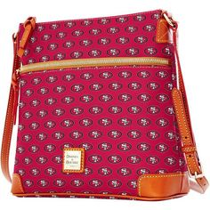 San Francisco 49ers Dooney & Bourke Women's Crossbody Purse - Scarlet
