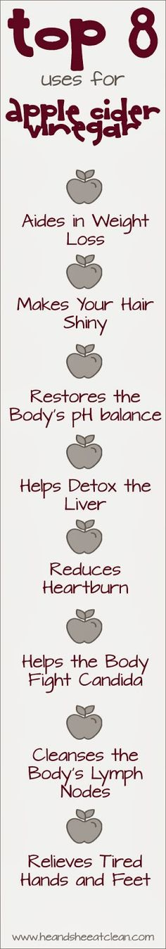 Clean Eat Education :: Apple Cider Vinegar ~ He and She Eat Clean