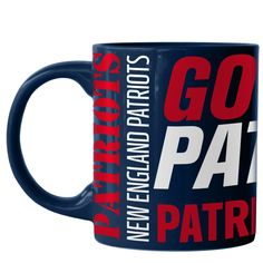 Boelter Brands New England Patriots Go Pats Mug at The Paper Store