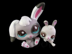 LITTLEST PET SHOP CUTEST PETS BABY STEPS WITH MOMMY Mommy Bunny and Baby BNIB